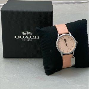 COACH Women's Leather Watch
